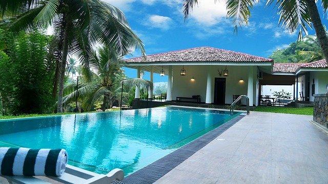 domek na Srí Lance